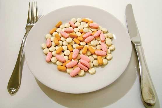 مصرف مکمل های غذایی