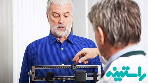 کاهش وزن غیرعادی