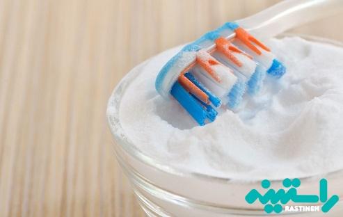 سفید کردن دندان با استفاده از جوش شیرین