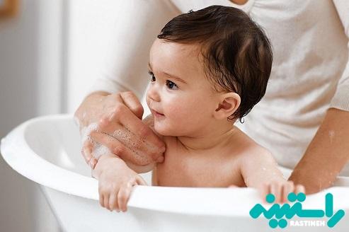 شستشوی پوست کودکان