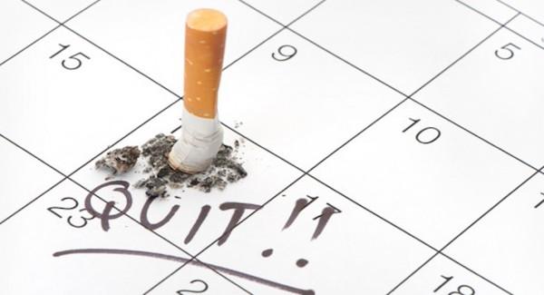تقویم ترک سیگار