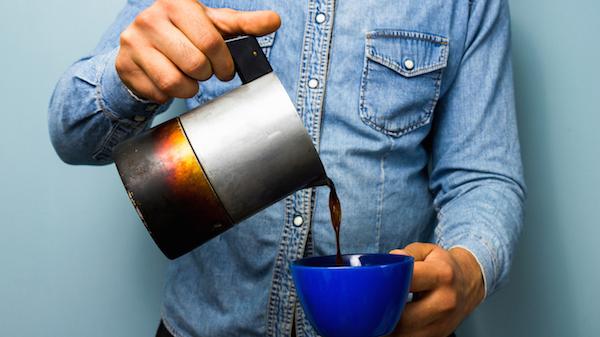 مصرف قهوه کافئین