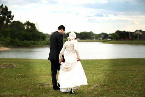 زن و شوهر با حجاب