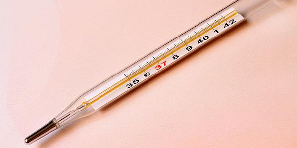دمای بالای بدن در دوران بارداری