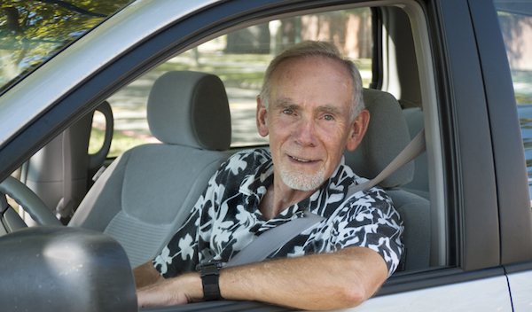 پیرمرد راننده