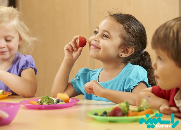تغذیه کودکان در مهدکودک