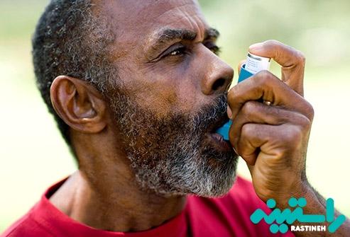 مصرف داروهای آسم