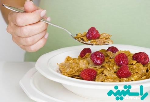 کاهش کلسترول با خوردن فیبر