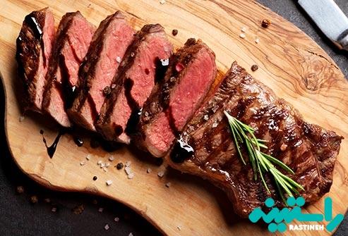 مصرف پروتئین بیش از حد