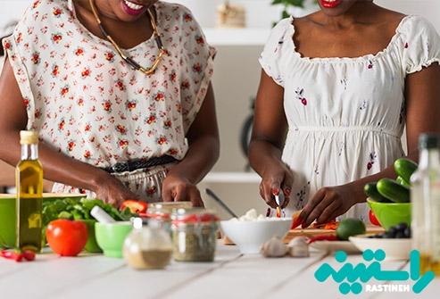 چگونگی طبخ مواد غذایی