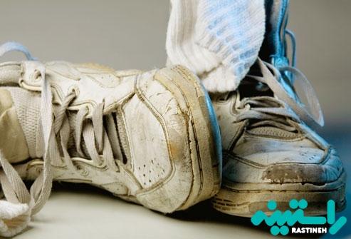 کفش های قدیمی قابل بازیافت
