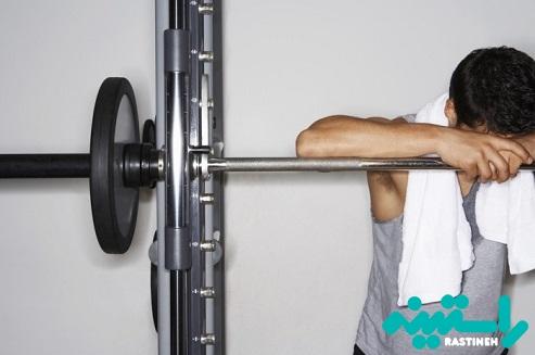تمرین بدنی بیش از حد