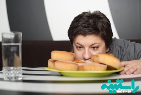 افزایش یا کاهش وزن ناگهانی
