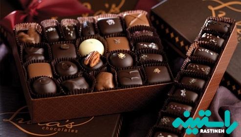 زمان و چگونگی مصرف شکلات