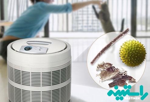 تمیز کردن هوا با فیلتر
