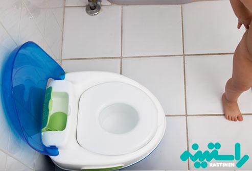 آموزش رفتن به توالت به کودکان