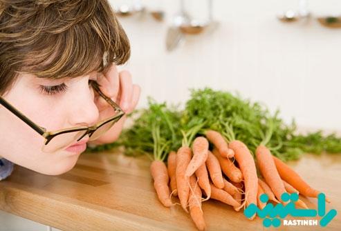تغذیه برای سلامت چشم