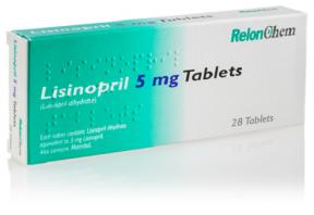 موارد استفاده و عوارض لیزینوپریل