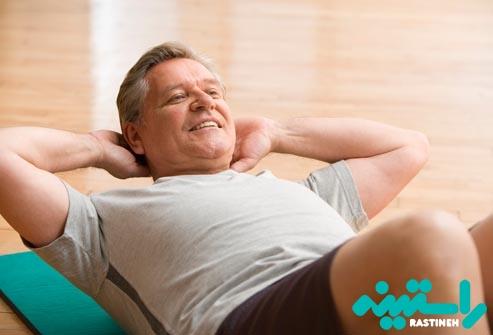 انعطاف برخی از عضلات