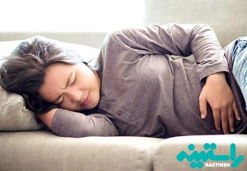 درد رباط اطراف شکم
