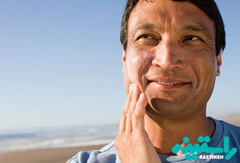 استفاده از کرمهای ضد آفتاب
