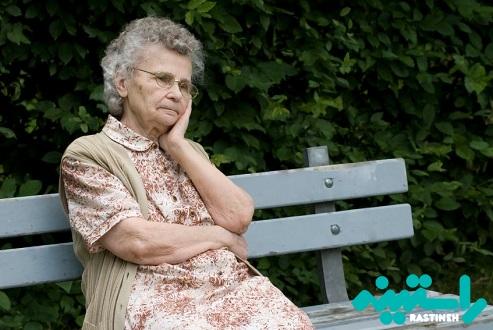 خانم های سالمند افسرده