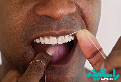 مسواک زدن، نخ دندان، و پاکیزگی دهان