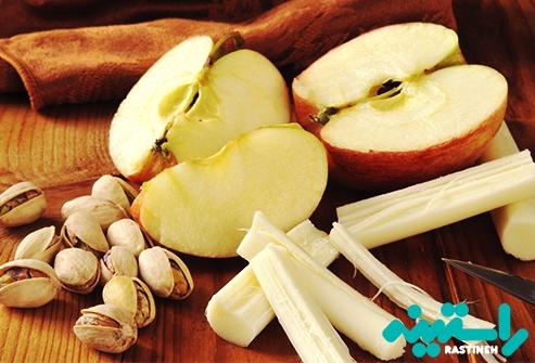سیب و پنیر