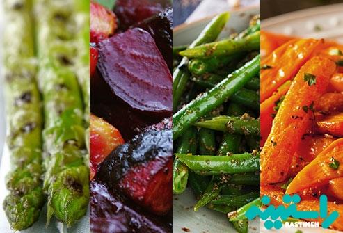 سبزیجات بخورید
