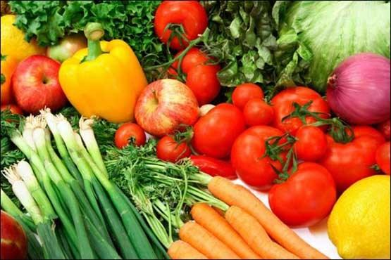 میوه و سبزی درمان آلرژی با میوه و سبزی