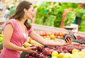 میوه های آلرژی زا