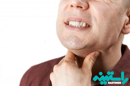 علائم گلو درد
