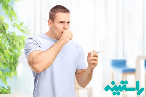 سرفه های ناشی از مصرف سیگار