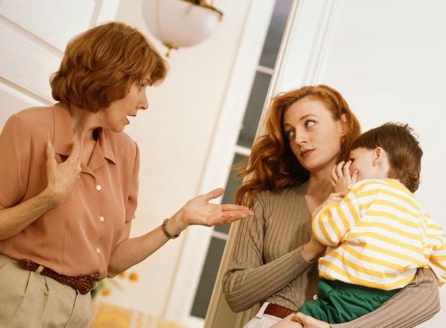 جنگ روانی مادرشوهر