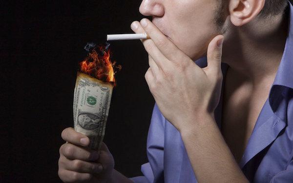 پس انداز پول با ترک سیگار
