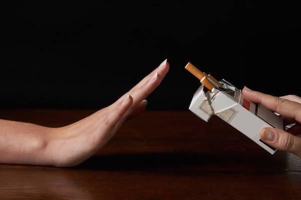نه گفتن به سیگار