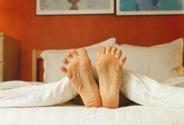 استراحت در رختخواب