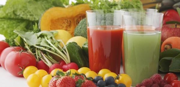آب میوه و سبزیجات