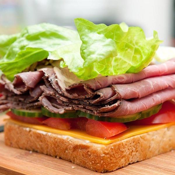 کباب گوشت گاو اغذیه فروشی