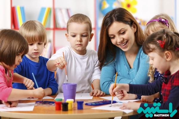 آموزش کودکان در مهدکودک