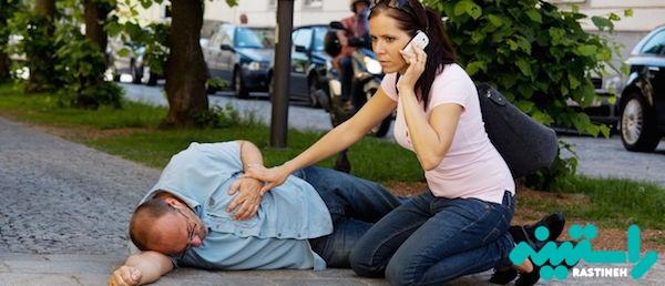 کمک به بیمار مبتلا به سرع