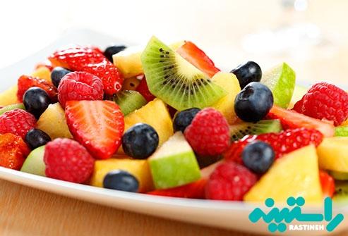 خوردن بیش از حد میوه