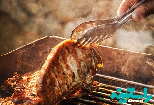 گوشت با چربی بالا
