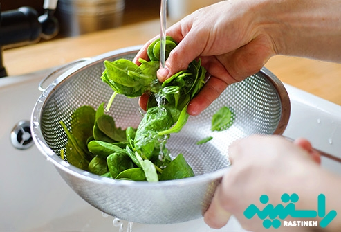 خوردن بیشتر سبزیجات برگ دار