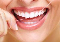 استفاده صحیح از نخ دندان