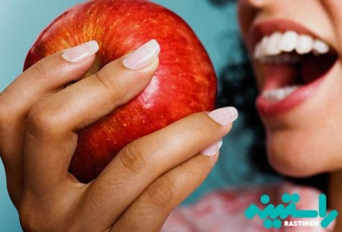 سیب، آناناس، توت فرنگی