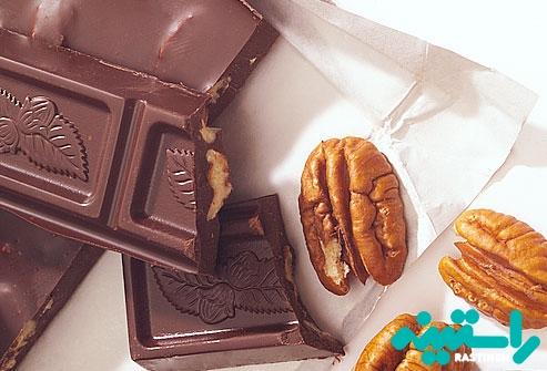 آجیل و شکلات