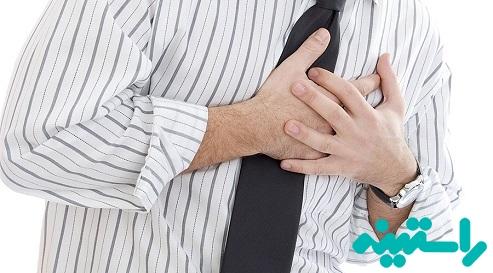 خطر حمله قلبی