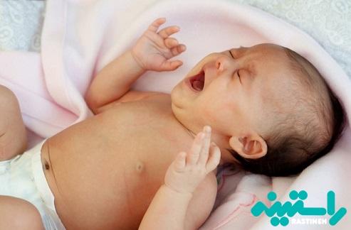 نوزادان که موقع ادرار