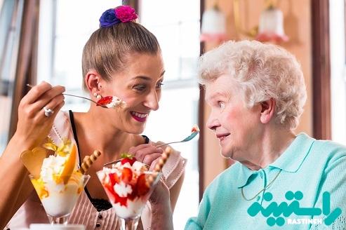 مصرف بستنی و پوکی استخوان